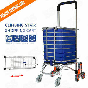 Collapsible Rolling Cart Wheels For Shopping And Grocery Folding Utility Cart Us