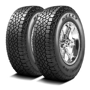 2 New Kelly Goodyear Edge A T 255 70r16 111s At All Terrain Tires