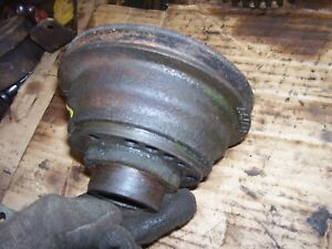 Vintage Oliver 55 Gas Tractor Engine Front Pulley
