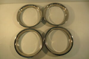Chevy Gmc Truck 15 X 2 Deep Dish Rally Wheel Rim Trim Beauty Ring 1968 1989