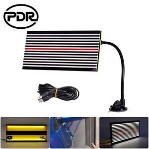 Pdr Tools Led Line Board Paintless Hail Removal Usb Reflector Car Dent Repair Us
