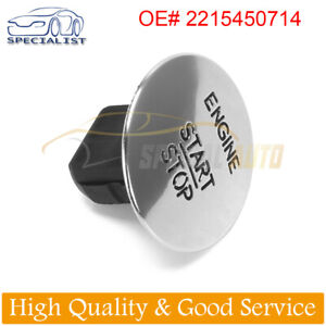 For Mercedes Benz Push To Start Button Keyless Go Engine Start Stop Push Button