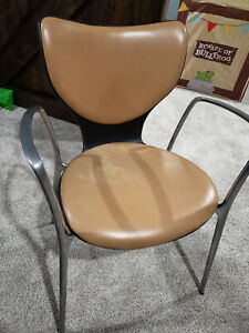Mcm Mid Century Office Chair Akaba Gorka Jorge Pensi Stackable Chair