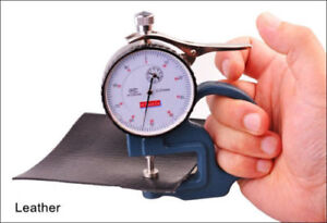 0 10mm Dial Thickness Gauge Tester Meter Paper Film Leather Measuring Tool