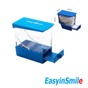 1pc Dental Cotton Roll Dispenser Press Type Autoclavable See through Easyinsmile