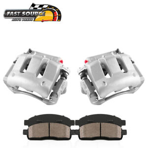 For 2010 2011 2012 2013 2014 Mustang Front Oe Brake Calipers Ceramic Pads