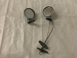 Mopar B Body Chrome Mirrors Fixed And Remote Charger Roadrunner 1968 1972