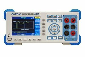 Peaktech P4095 4 1 2 Digit Graphical Bench Multimeter Tft 4 5 Digits Dmm