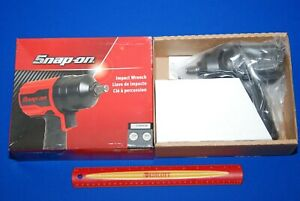 Brand New Snap On Tools 1 2 Drive Gun Metal Grey Air Impact Wrench Pt850gm