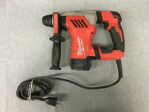 Milwaukee 5268 21 120v Electric Corded 1 1 8 Sds Plus Rotary Hammer Drill