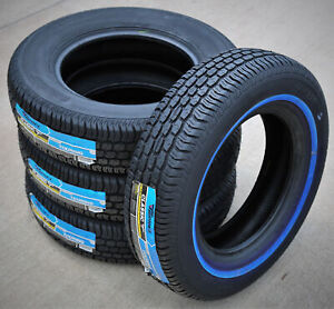 4 Tires Tornel Classic 205 75r15 97s White Wall A S All Season
