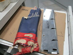 1947 Cadillac Grill Upright Stainless 1452744 Nos 2