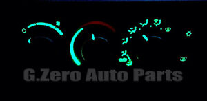 2003 2007 Dodge Ram 1500 2500 3500 Climate Control Light Kit Led Green