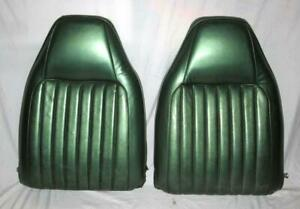 Mopar 1973 1976 A Body Dart Valiant Duster Split Bench Bucket Seat Backs Pair