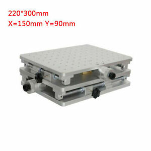 Laser Marking Machine Xy Axis Positioning Moving Work Table Workbench 220 300mm