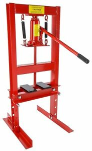 Jegs 81518 Hydraulic Shop Press 6 Ton Table Top Mount Working Range Up To 18 In