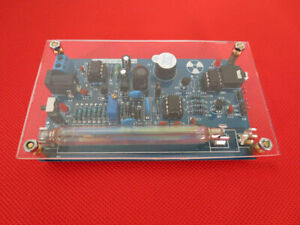 Assembled Diy Geiger Counter Kit Nuclear Radiation Detector Gm Tube For Arduino