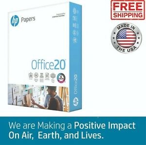 Hp Office Copy Printer Paper Sheets Premium Letter Print White Good Quality Home