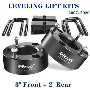 3 Front 2 Rear Leveling Lift Kit For Chevy Silverado 1500 Sierra Gmc 07 20