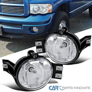 For 02 08 Dodge Ram 1500 2500 3500 04 06 Dodge Durango Fog Lights Bumper Lamps