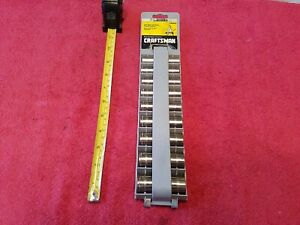 Craftsman 6pt Deep 3 8 Drive Metric Socket Set 9c Vtg Usa