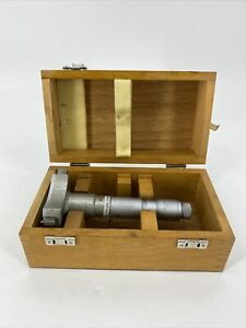 Spi 2 8 3 2 Three Point Internal Micrometer With Wooden Case