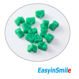 40pcs Dental Wedges Add on Orthodontic Elastic Silicone For Matrices Easyinsmile