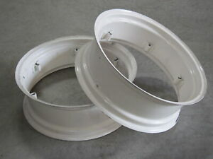 2 Wheel Rims 10x28 For John Deere Jd 1020 1030 1030ou 1030vu 1035ef 1035ev 1040