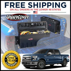 Undercover Swing Case Driver Side Truck Bed Storage For 2015 2020 Ford F 150