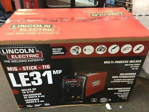 Lincoln Electric Le31mp Weld Multiprocess Mig Tig Stick Wire Feed Welder K3461 1