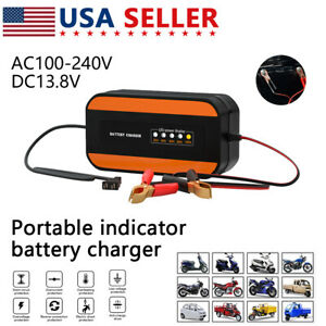 Portable Car Motorcycle Battery Charger Starter Booster Jumper Box Power Bank Us