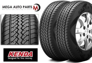2 New Kenda Klever H P Kr15 245 70r16 107s M S Rated All Season Highway Tires