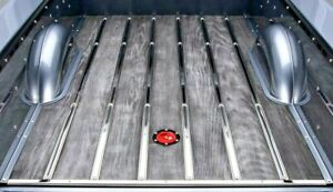 Bed Strips Ford 1953 1960 Polished Stainless Steel Short Step Flareside Truck