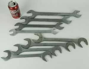 Cornwell Aw Ew Series 4 Way Angled Open End Wrench Set 8pc 15 16 To 1 1 2
