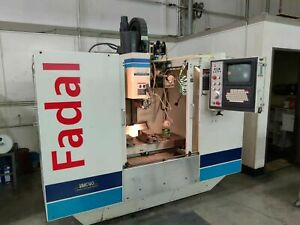 1995 Fadal Vmc40 With Full 4th Axis In Xlnt Condition Tooling Included
