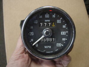 Vg Used Smiths Speedometer Mgb 68 71 120 Mph Tested Works