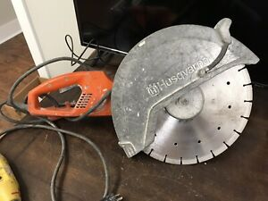 Husqvarna K3000 15a 120v Wet Electric 14 Cut off Saw Used Condition Cn311