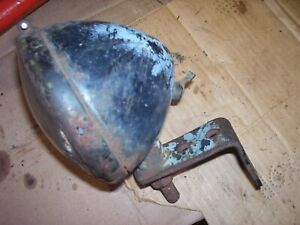 Vintage Fordson Major Diesel Tractor 4 1 2 Tear Drop Light Brkt Works