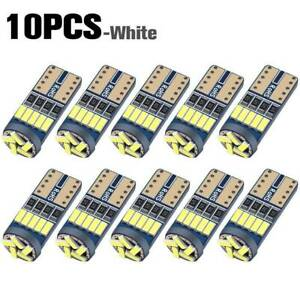 10x T10 Led Canbus Error Free Bulb 15smd 194 W5w Car Wedge Lamp Dome Map Lights