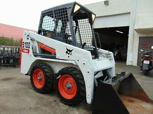 2013 Bobcat S100 Mini 2 Speed Kubota Diesel Sjc Selectable Pilot Controls