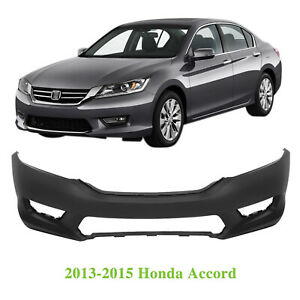 Front Bumper Cover For 2013 2014 2015 Honda Accord Ho1000288 04711t2aa90zz