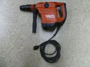 Hilti Te 50 avr Corded Rotary Hammer Drill Tested Works Good
