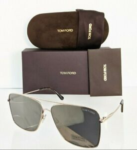 Brand New Authentic Tom Ford Sunglasses Ft Tf 0651 28c Tf651 Magnus 02 60mm