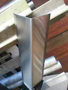 Stainless Steel Corner Guard Angle 2 X 2 X 24 set Of 2
