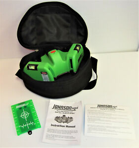 Johnson 40 6622 Heavy Duty Flooring Laser With Greenbrite Technology Super Nice