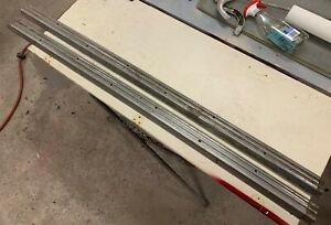 1957 Ford Ranchero Bed Side Trim Rail Molding Pair Rh Lh 57 58 Stainless Steel