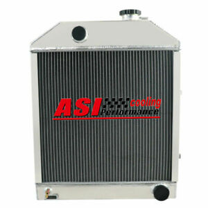 C7nn8005h Aluminum Radiator For Ford New Holland 2000 2600 3000 3600 Tractor