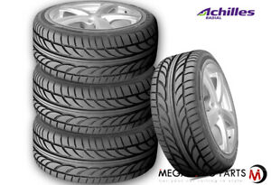 4 Achilles Atr Sport 195 50r15 82v All Season Traction High Performance Tires