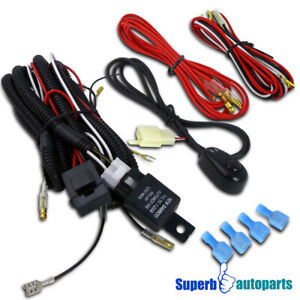 Wiring Harness Relay Switch Kit Led Spot Work Lights Fog Lamps 12v 40a