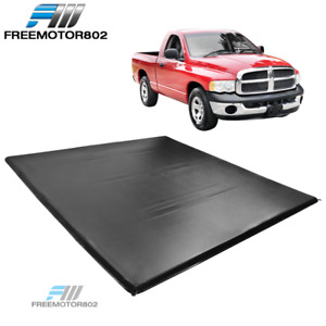Fits 02 08 Dodge Ram 1500 2500 3500 6 1 Ft Truck Bed Four Fold Tonneau Cover